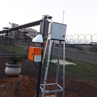 AQMesh monitors air quality around mining facilities in South Africa